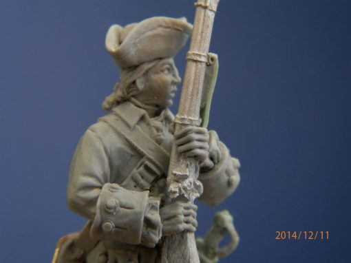 French American Indian War Figures 40mm | Sean Judd – Trident Design